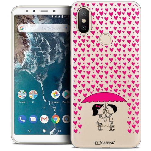 "Carcasa Crystal Gel Extra Fina Xiaomi Mi A2 (5.99"") Love Pluie d'Amour"