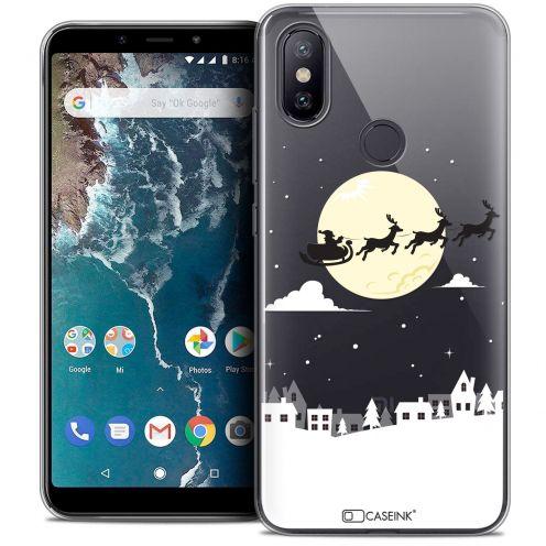 """Carcasa Crystal Gel Extra Fina Xiaomi Mi A2 (5.99"""") Noël 2017 Flying Stanta"""
