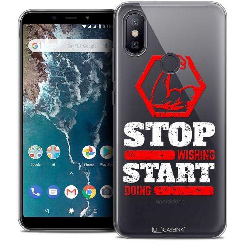 "Carcasa Crystal Gel Extra Fina Xiaomi Mi A2 (5.99"") Quote Start Doing"