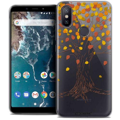 "Carcasa Crystal Gel Extra Fina Xiaomi Mi A2 (5.99"") Autumn 16 Tree"