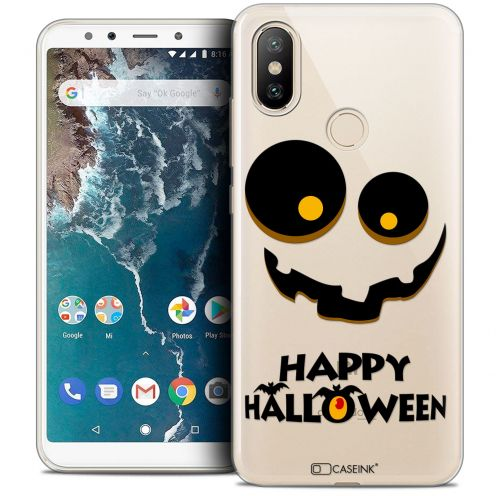 "Carcasa Crystal Gel Extra Fina Xiaomi Mi A2 (5.99"") Halloween Happy"