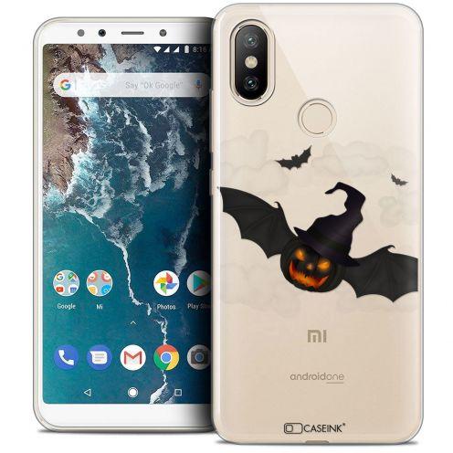 "Carcasa Crystal Gel Extra Fina Xiaomi Mi A2 (5.99"") Halloween Chauve Citrouille"