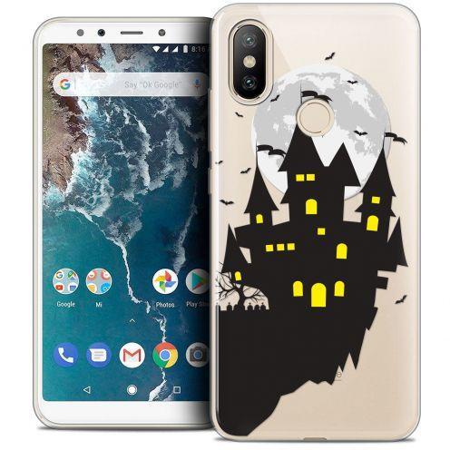 "Carcasa Crystal Gel Extra Fina Xiaomi Mi A2 (5.99"") Halloween Castle Dream"