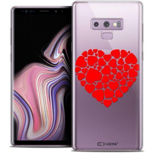 """Carcasa Crystal Gel Extra Fina Samsung Galaxy Note 9 (6.4"""") Love Coeur des Coeurs"""