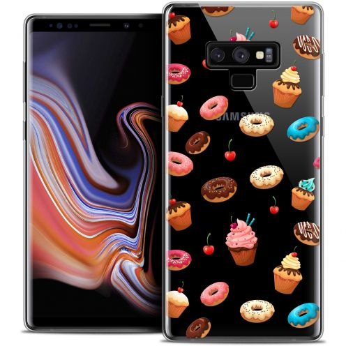 "Carcasa Crystal Gel Extra Fina Samsung Galaxy Note 9 (6.4"") Foodie Donuts"
