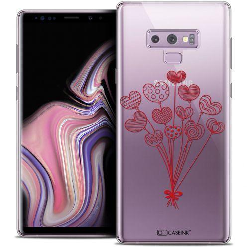 "Carcasa Crystal Gel Extra Fina Samsung Galaxy Note 9 (6.4"") Love Ballons d'amour"