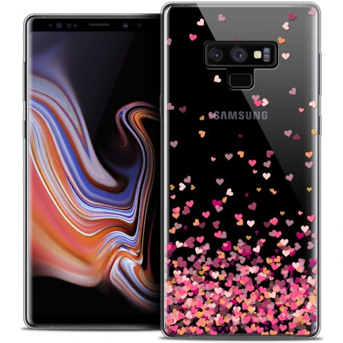 "Carcasa Crystal Gel Extra Fina Samsung Galaxy Note 9 (6.4"") Sweetie Heart Flakes"