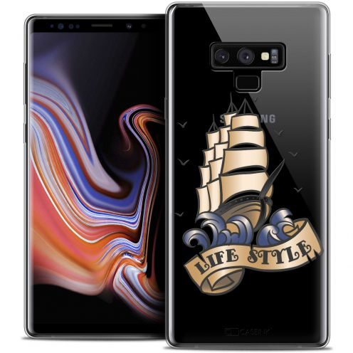 "Carcasa Crystal Gel Extra Fina Samsung Galaxy Note 9 (6.4"") Tatoo Lover Life Style"