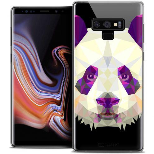 "Carcasa Crystal Gel Extra Fina Samsung Galaxy Note 9 (6.4"") Polygon Animals Panda"