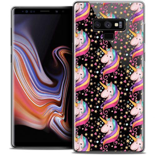 "Carcasa Crystal Gel Extra Fina Samsung Galaxy Note 9 (6.4"") Fantasia Licorne Etoilée"