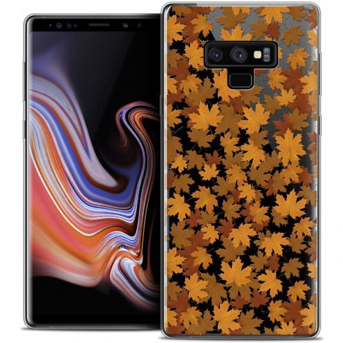 "Carcasa Crystal Gel Extra Fina Samsung Galaxy Note 9 (6.4"") Autumn 16 Feuilles"