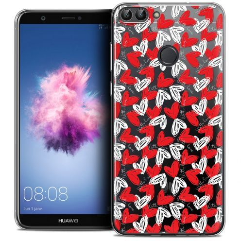 "Carcasa Crystal Gel Extra Fina Huawei P Smart (5.7"") Love With Love"