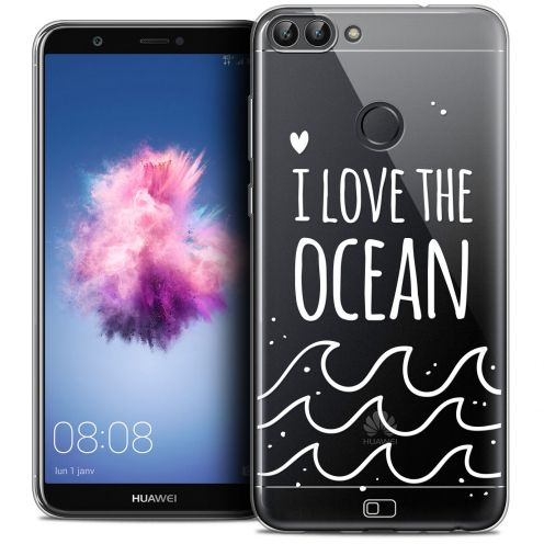 "Carcasa Crystal Gel Extra Fina Huawei P Smart (5.7"") Summer I Love Ocean"