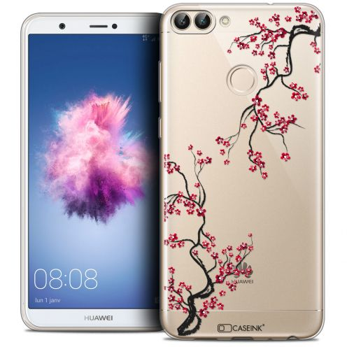 "Carcasa Crystal Gel Extra Fina Huawei P Smart (5.7"") Summer Sakura"