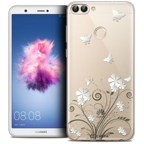 "Carcasa Crystal Gel Extra Fina Huawei P Smart (5.7"") Summer Papillons"