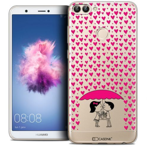"Carcasa Crystal Gel Extra Fina Huawei P Smart (5.7"") Love Pluie d'Amour"