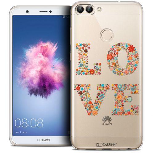"Carcasa Crystal Gel Extra Fina Huawei P Smart (5.7"") Summer Love Flowers"