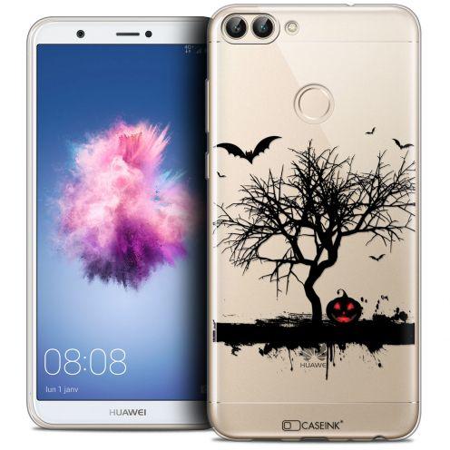 "Carcasa Crystal Gel Extra Fina Huawei P Smart (5.7"") Halloween Devil's Tree"