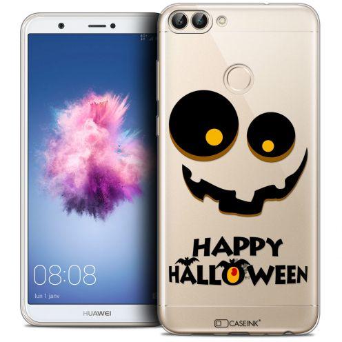 "Carcasa Crystal Gel Extra Fina Huawei P Smart (5.7"") Halloween Happy"