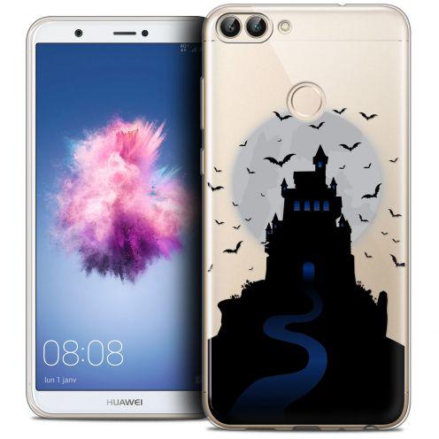 "Carcasa Crystal Gel Extra Fina Huawei P Smart (5.7"") Halloween Castle Nightmare"