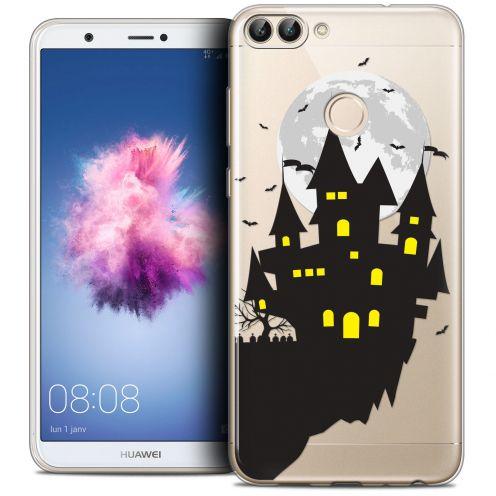 "Carcasa Crystal Gel Extra Fina Huawei P Smart (5.7"") Halloween Castle Dream"