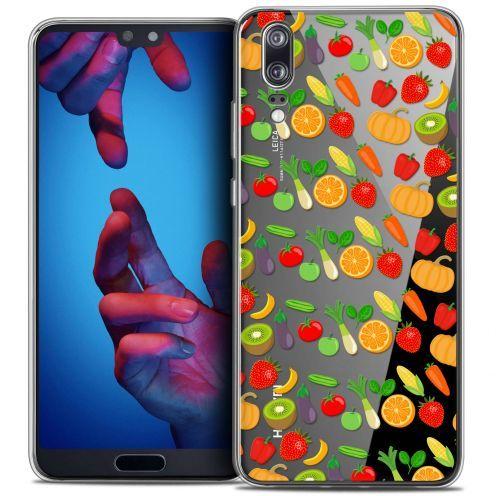 """Carcasa Crystal Gel Extra Fina Huawei P20 (5.8"""") Foodie Healthy"""