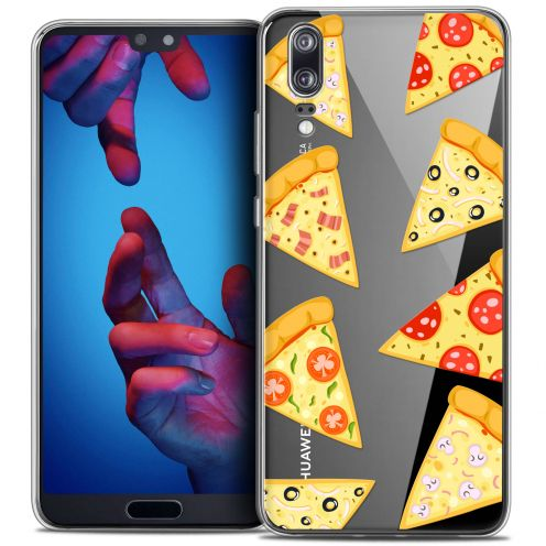 "Carcasa Crystal Gel Extra Fina Huawei P20 (5.8"") Foodie Pizza"
