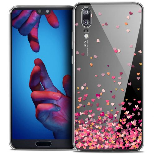 "Carcasa Crystal Gel Extra Fina Huawei P20 (5.8"") Sweetie Heart Flakes"