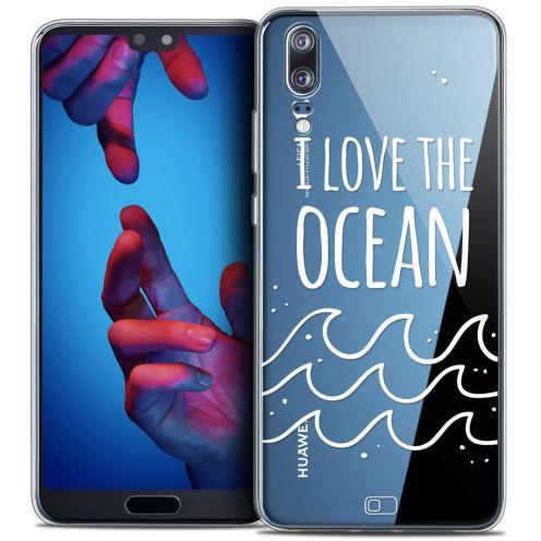 "Carcasa Crystal Gel Extra Fina Huawei P20 (5.8"") Summer I Love Ocean"
