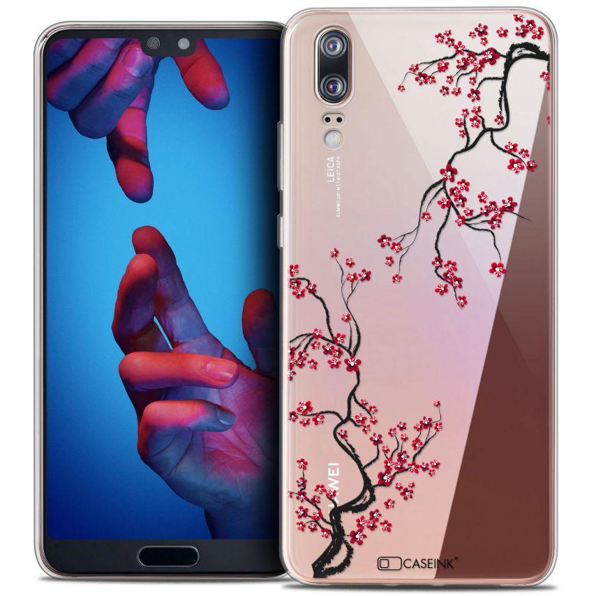 "Carcasa Crystal Gel Extra Fina Huawei P20 (5.8"") Summer Sakura"