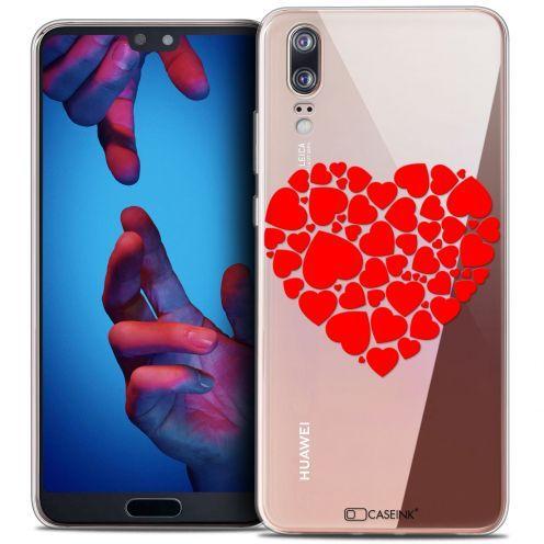 "Carcasa Crystal Gel Extra Fina Huawei P20 (5.8"") Love Coeur des Coeurs"