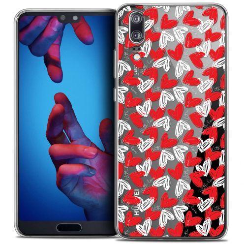 "Carcasa Crystal Gel Extra Fina Huawei P20 (5.8"") Love With Love"