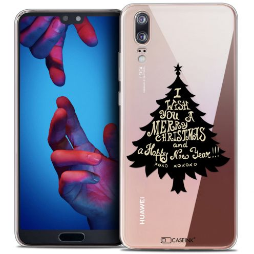 "Carcasa Crystal Gel Extra Fina Huawei P20 (5.8"") Noël 2017 XOXO Tree"