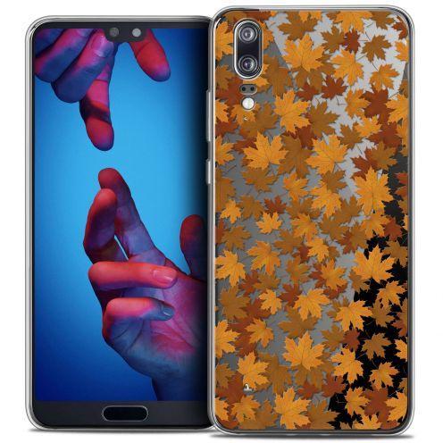 """Carcasa Crystal Gel Extra Fina Huawei P20 (5.8"""") Autumn 16 Feuilles"""
