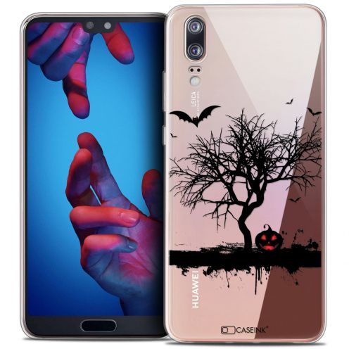"Carcasa Crystal Gel Extra Fina Huawei P20 (5.8"") Halloween Devil's Tree"