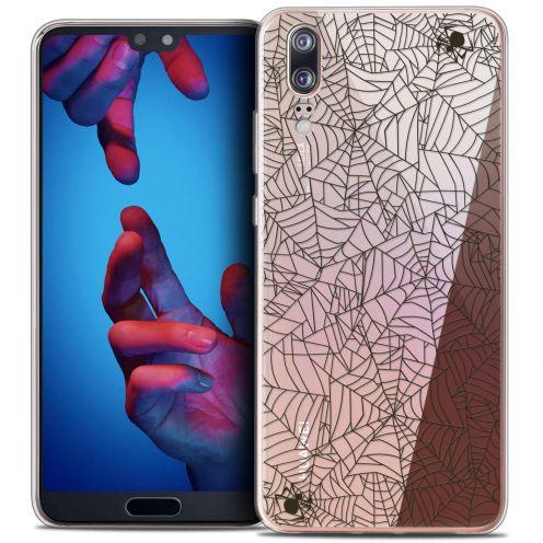 "Carcasa Crystal Gel Extra Fina Huawei P20 (5.8"") Halloween Spooky Spider"