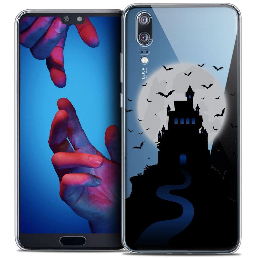"Carcasa Crystal Gel Extra Fina Huawei P20 (5.8"") Halloween Castle Nightmare"