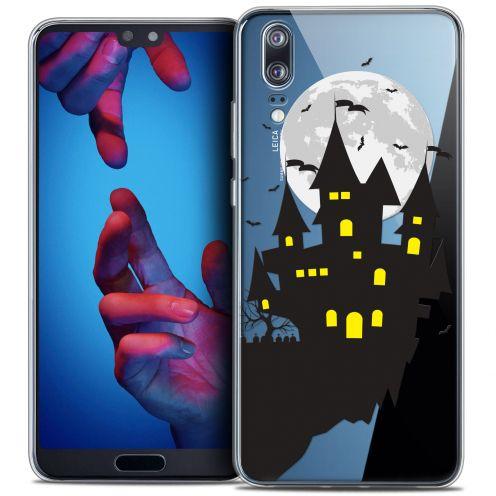 "Carcasa Crystal Gel Extra Fina Huawei P20 (5.8"") Halloween Castle Dream"