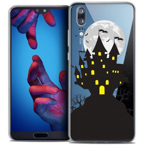 "Carcasa Crystal Gel Extra Fina Huawei P20 (5.8"") Halloween Castle Scream"