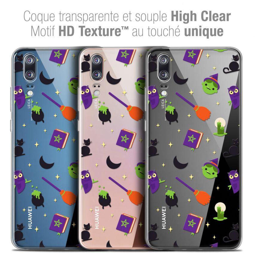 "Carcasa Crystal Gel Extra Fina Huawei P20 (5.8"") Halloween Witch Potter"
