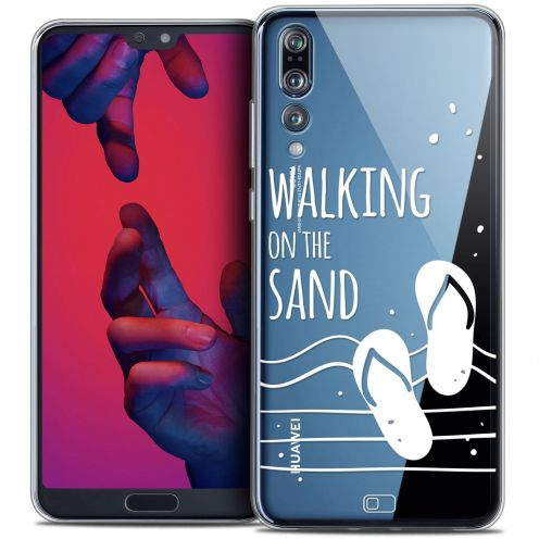 "Carcasa Crystal Gel Extra Fina Huawei P20 PRO (6.1"") Summer Walking on the Sand"