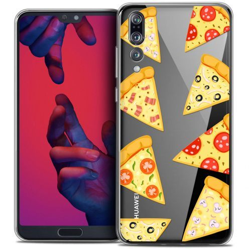 """Carcasa Crystal Gel Extra Fina Huawei P20 PRO (6.1"""") Foodie Pizza"""