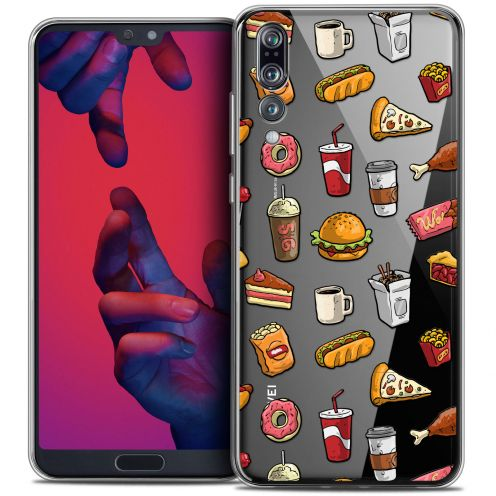 "Carcasa Crystal Gel Extra Fina Huawei P20 PRO (6.1"") Foodie Fast Food"