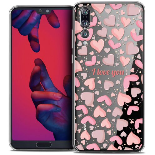 "Carcasa Crystal Gel Extra Fina Huawei P20 PRO (6.1"") Love I Love You"