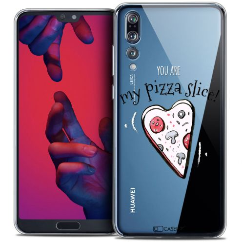 "Carcasa Crystal Gel Extra Fina Huawei P20 PRO (6.1"") Love My Pizza Slice"