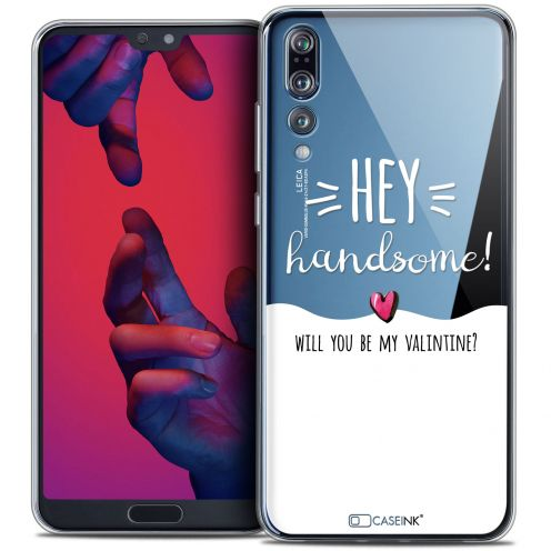 "Carcasa Crystal Gel Extra Fina Huawei P20 PRO (6.1"") Love Hey Handsome !"