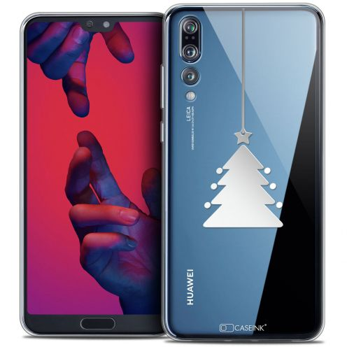 "Carcasa Crystal Gel Extra Fina Huawei P20 PRO (6.1"") Noël 2017 Petit Arbre"