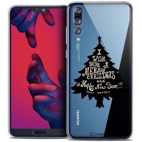 "Carcasa Crystal Gel Extra Fina Huawei P20 PRO (6.1"") Noël 2017 XOXO Tree"