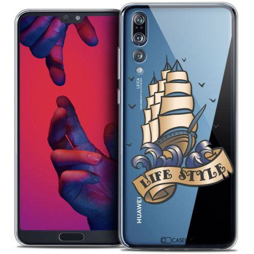 "Carcasa Crystal Gel Extra Fina Huawei P20 PRO (6.1"") Tatoo Lover Life Style"