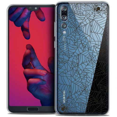 "Carcasa Crystal Gel Extra Fina Huawei P20 PRO (6.1"") Halloween Spooky Spider"